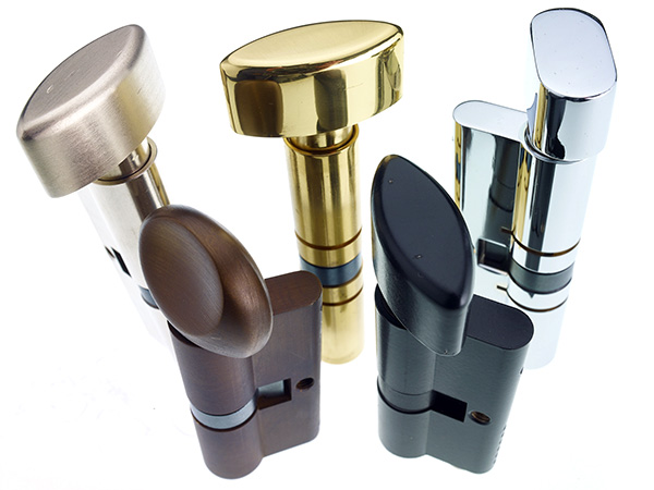 A collection of Tigris Premier3 cylinder locks from Access2 with patented security features