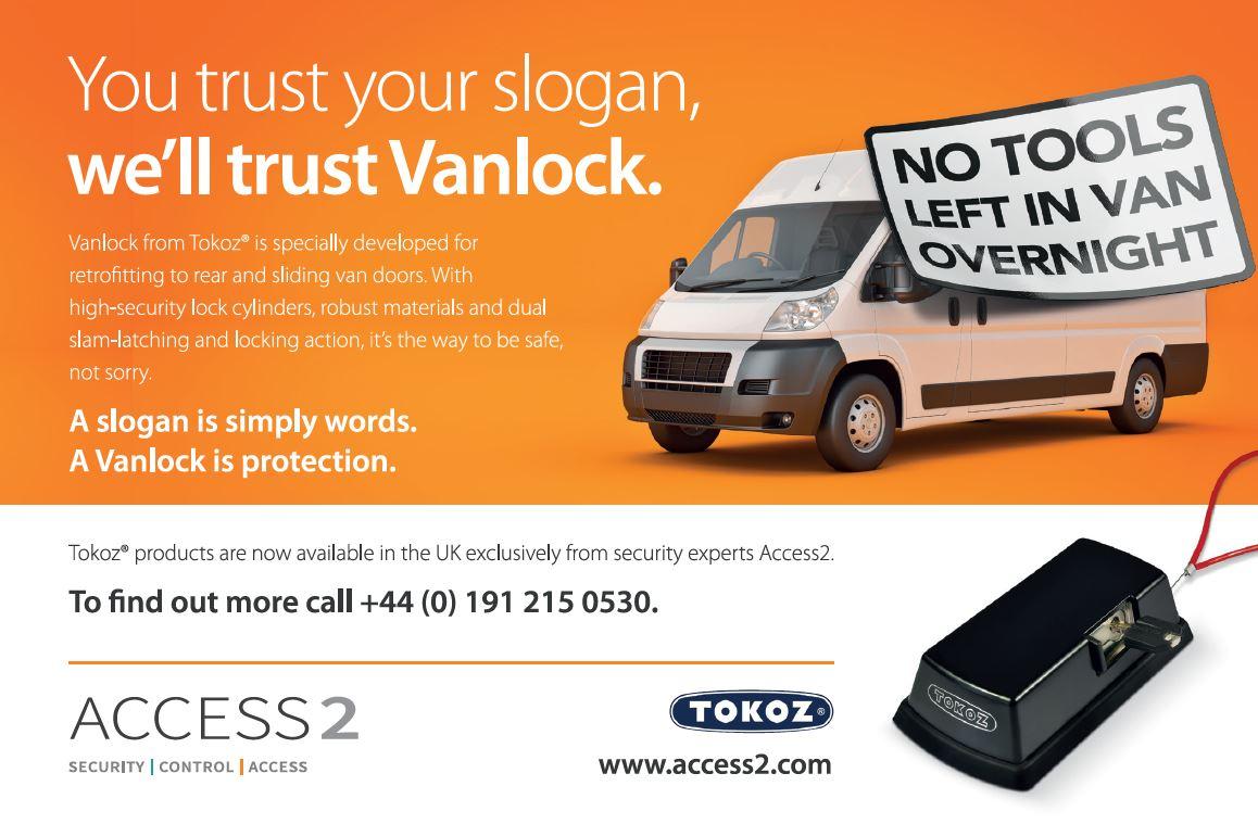 Van lock